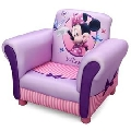 Fotoliu cu cadru din lemn Disney Minnie Mouse pentru copii - BBXTC85604MM