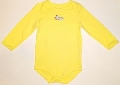 Body galben cu avionas pentru bebe 15022