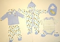 Set hainute bebelusi cu elefantei -14973