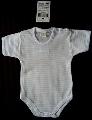 Body de bebelusi cu dungulite bleu si albe - ICC179