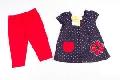 Set hainute cu bulinute pentru bebeluse - BBN1178