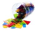 Poligoane colorate - set 450 buc - EDULER7626