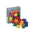 Corpuri geometrice din plastic - 10 piese - EDULER0922