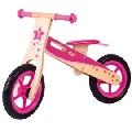 Bicicleta fara pedale roz - EDUBJ776