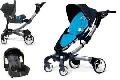 Carucior Origami 2in1 sport si scaun auto bleu - PJB44