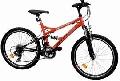 Bicicleta DHS Series 2445 21V model 2013-Albastru-Negru - ONL8-213244500 Albastru-Negru