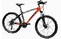 Bicicleta MTB DHS I 2687 21V model 2012-Negru-Rosu-420 mm - ONL8-212268700 Negru-Rosu Cadru 420 mm