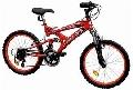 Bicicleta DHS 2042 model 2012 -Rosu-Negru - ONL8-212204200 Rosu-Negru