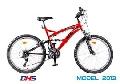 Bicicleta DHS 2442-18V -Model 2013-Rosu-Negru - ONL8-213244200 Rosu-Negru