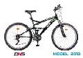Bicicleta DHS 2642-18V -Model 2013-Rosu-Negru - ONL8-213264200 Rosu-Negru