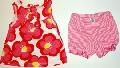 Rochita cu flori si pantalonas - 15487A