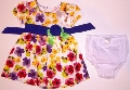 Rochita cu floricele colorate si chilotel - 15157A