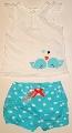 Pantalonas scurt si maiou pentru bebeluse - 15615
