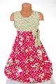 Rochite fetite cu imprimeu floral si buline - BBN2063