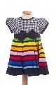 Rochite bebe cu dungi multicolore- BBN1045