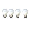 Set 4 Becuri Led E27 4W Lumina Calda DLF 3040