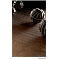 Gresie portelanata maro pentru living Silkwood Noce 12.5x50 cm