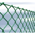 Sistem de gard din plasa verde impletita, cu inaltime 1,5 metri