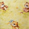 Tapet pentru copii Ideea Teddy Bear