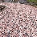 Piatra Cubica Granit Maple Red Natur 8 x 8 x 8cm
