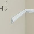 Brau de perete din polimer rigid B1