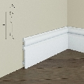 Plinta de podea din polimer rigid S8