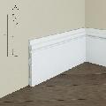 Plinta de podea din polimer rigid S13