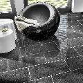 Granit Padang Dark (Antracit) Polisat 61 x 30.5 x 1 cm
