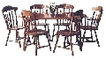 Masa extensibila  260 cu 6 scaune dining CY9