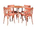 Set masa bistro cu patru scaune