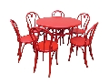 Set masa cu sase scaune Thonet