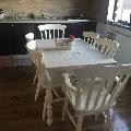 Masa extensibila Country 3 cu scaune Antique