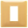 Rama ornament 1 modul Reflex amber