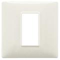Rama ornament 1 modul Tehnopolimer granite alb