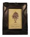 Rama pentru fotografii din lemn, antichizata