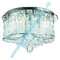 Candelabru Mela 7985-48CC crom LED 24W 1320LM lumina calda