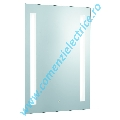 Oglinda iluminata Bathroom Lights 7450 T8 2x18W lumina intermediara