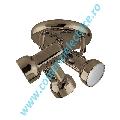 Plafoniera Jack 955JACK3R/AB aur antic 3xE14 A++