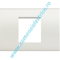 RAMA RECTANGULARA 2M CENTRAT ALB LIVING LIGHT BTICINO
