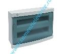 TABLOU INCASTRAT ABS BLUE 36 (2X18) MODULE 426X310X109 IP40