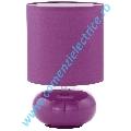 Veioza Trondio 93047 violet E14 1x40W