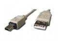 CABLU DE DATE USB 2.0, 1.8M, BULK, ALB, GEMBIRD, CC-USB2-AM4P-6