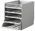 Cutii de arhivare cu 5 tavite pentru interiorul dulapului Ideal Standard