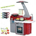 Bucatarie Ecoiffer Bubble Cook 2 in 1 - Bucatarie/ Stand de fructe cu 22 accesorii