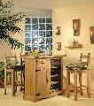 Bar si 3 Scaune de Bar COD 1522 si 1523 lemn masiv