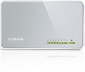 SWITCH 8 PORTURI 10/100 MBPS, FUNCTII: ECONOMISIRE ENERGIE,802.3X FLOW CONTROL, CARCASA DIN PLASTIC, TP-LINK TL-SF1008D