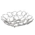Cos metalic decorativ pentru fructe Nava, diametru 28 cm