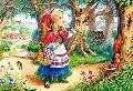 Puzzle Scufita rosie 120 piese 12381 Castorland,