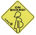 Semn Gravida la bord Safety 1st,