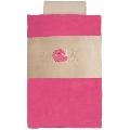 Lenjerie de pat pentru copii Nattou, Lapidou Pink
